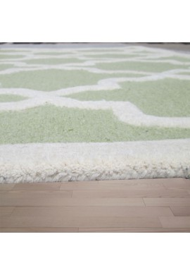 Ivory Hand-Tufted Area Rug
