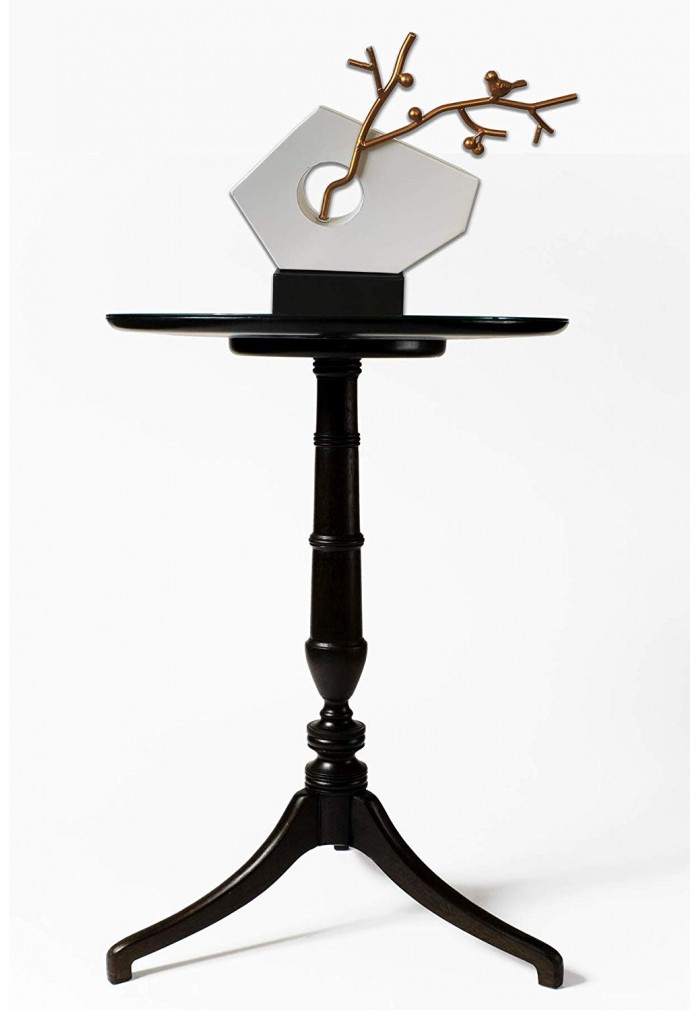 DecorShore Handcrafted Balanced Harmony Decorative Metal Tabletop Statue, Home Decor Accent Statue - Abstract Iron Sculpture