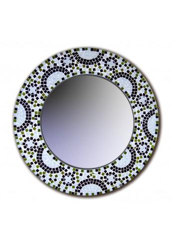 DecorShore Contemporary Multi-color Mosaic Mirror