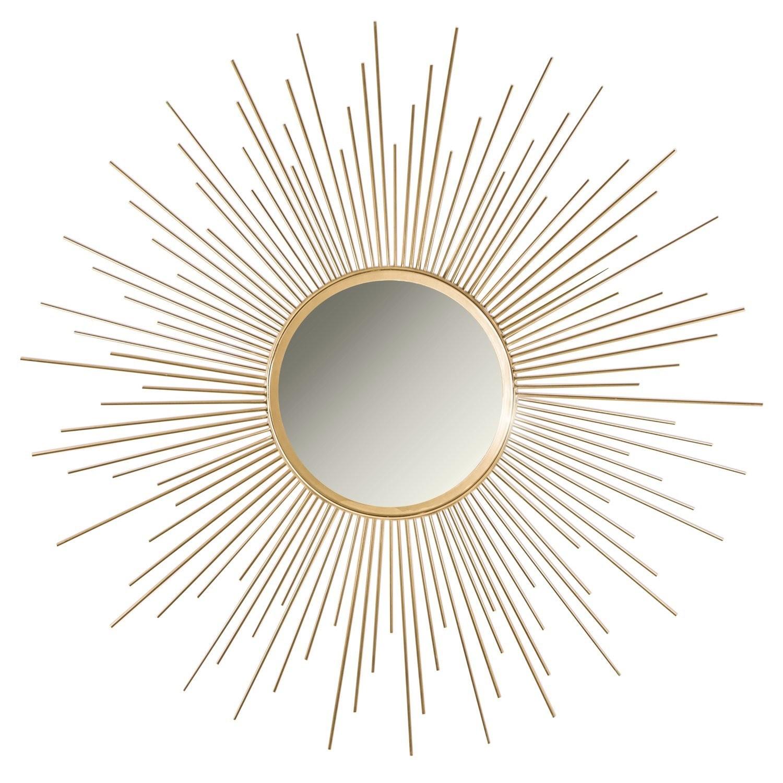 Buy 36 gold sunburst circular metal wall mirror online decorshore amipublicfo Choice Image