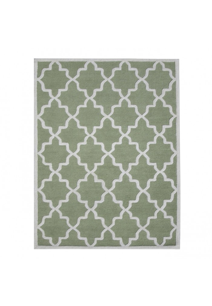 Green Trellis Rug - Rugs Ideas