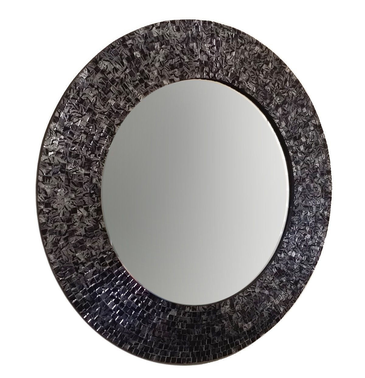 Buy 24 Blacksilver Metallic Traditional Mosaic Decorative Wall