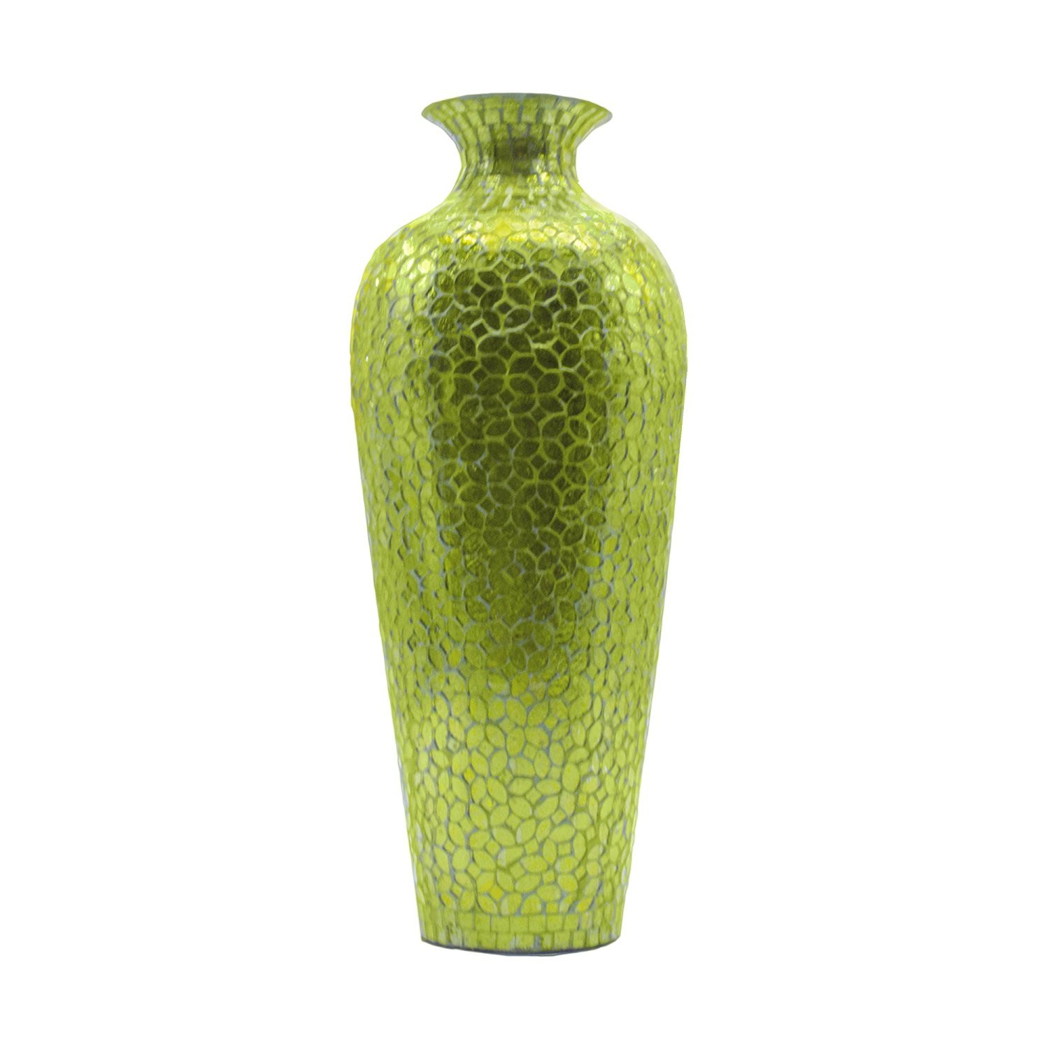 Green Vases For Sale - Vase and Cellar Image Avorcor.Com on pottery with metal, bookcase with metal, box with metal, fused glass with metal, glass lamp shade with metal,