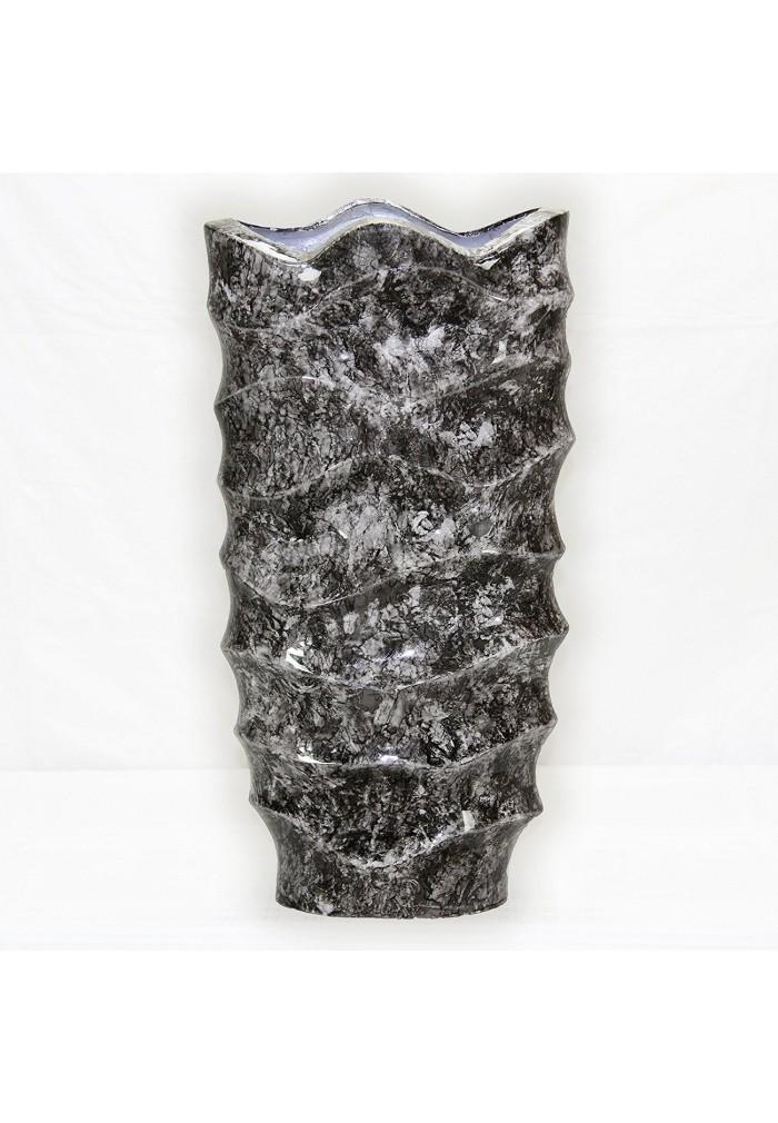 Buy Ds Gallery Abstract Metal Floor Vase Mid Century