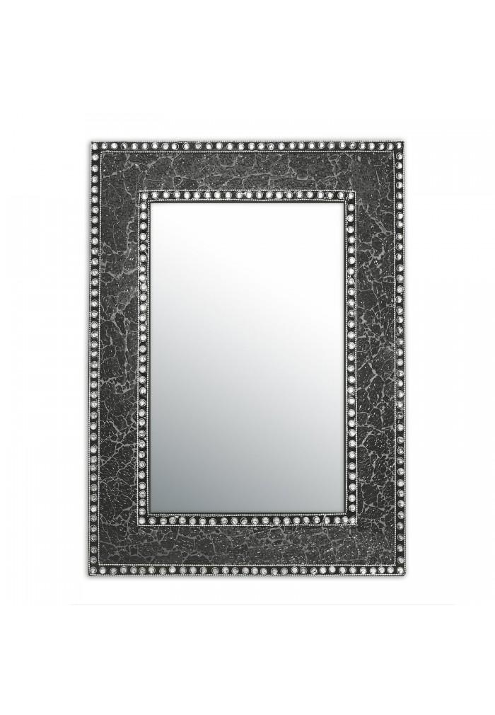 Decorshore 24 Quot X 18 Quot Crackled Glass Framed Rectangular