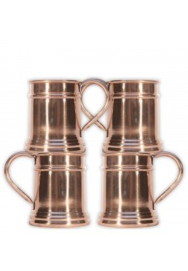 Sedona Sunset Collection Chimney Rock Copper Mug, 20 oz. Moscow Mule Mug and Drinkware, Bar Cart Accessories