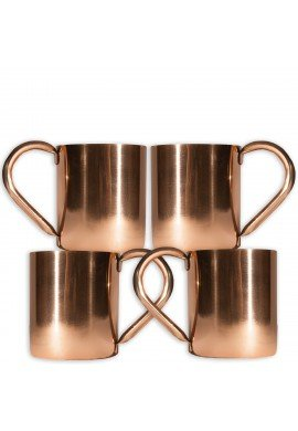Sedona Sunset Collection Slide Rock Copper Mug, 20 oz. Moscow Mule Mug and Drinkware, Bar Cart Accessories
