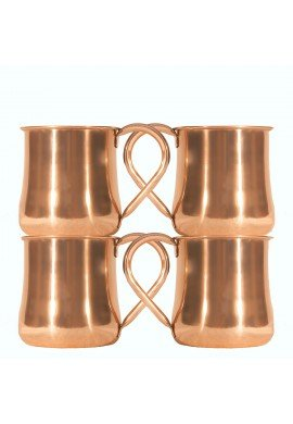 Sedona Sunset Collection, Cathedral Rock Copper Mug, 20 oz. Moscow Mule Mug and Drinkware, Bar Cart Accessories