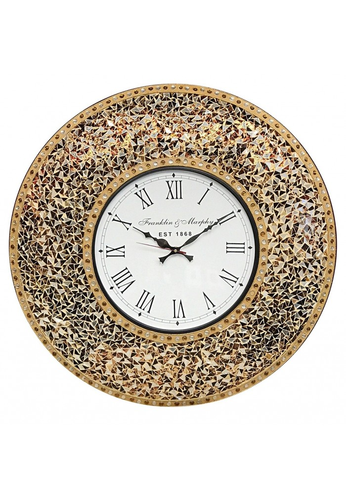 Superieur DecorShore 23 Decorative Wall Clock Golden Sands ...