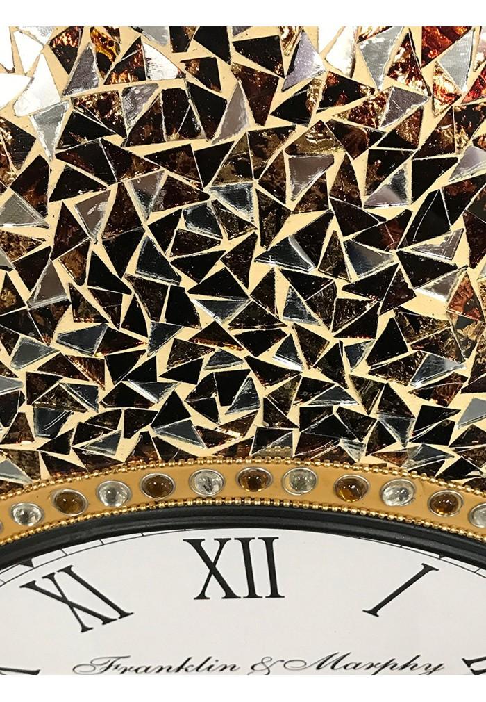 DecorShore 23 Decorative Wall Clock Golden Sands