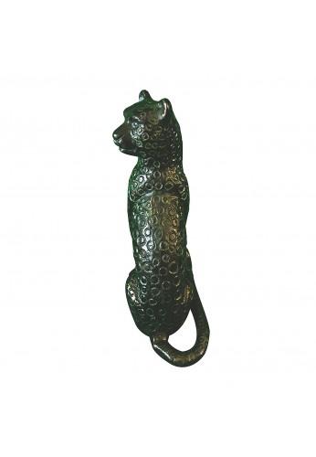 Jaguar Metal Statuette