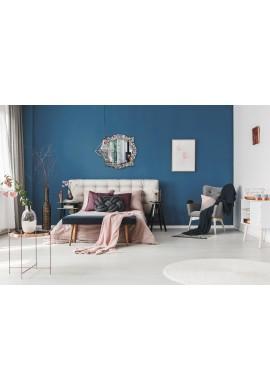 "Andalusian Quatrefoil Mirror, Lindaraja Designer Mosaic Glass Framed Wall Mirror, 24""x24"" Colorful Wall Mirror (Multi Silver)"