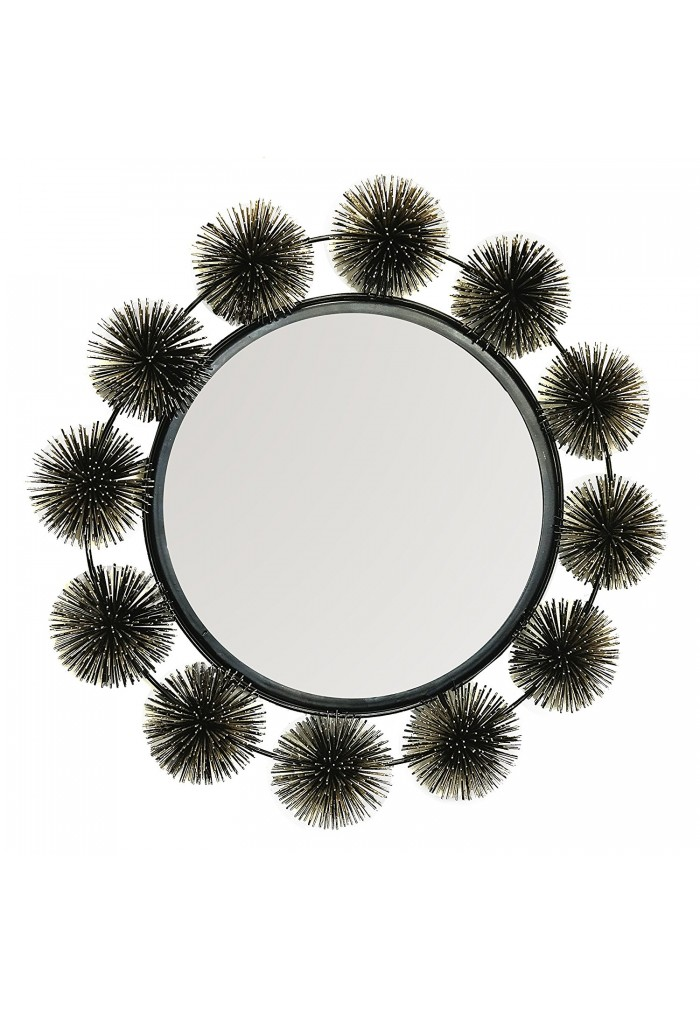 DecorShore Hadal Wall Mirror - Sea Urchin Decorative Sculpture & Mirror