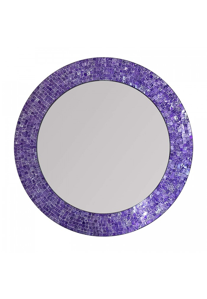 "DecorShore 24"" Mosaic Wall Mirror"