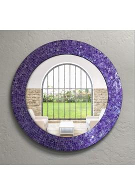 """DecorShore 24"""" Mosaic Wall Mirror"""