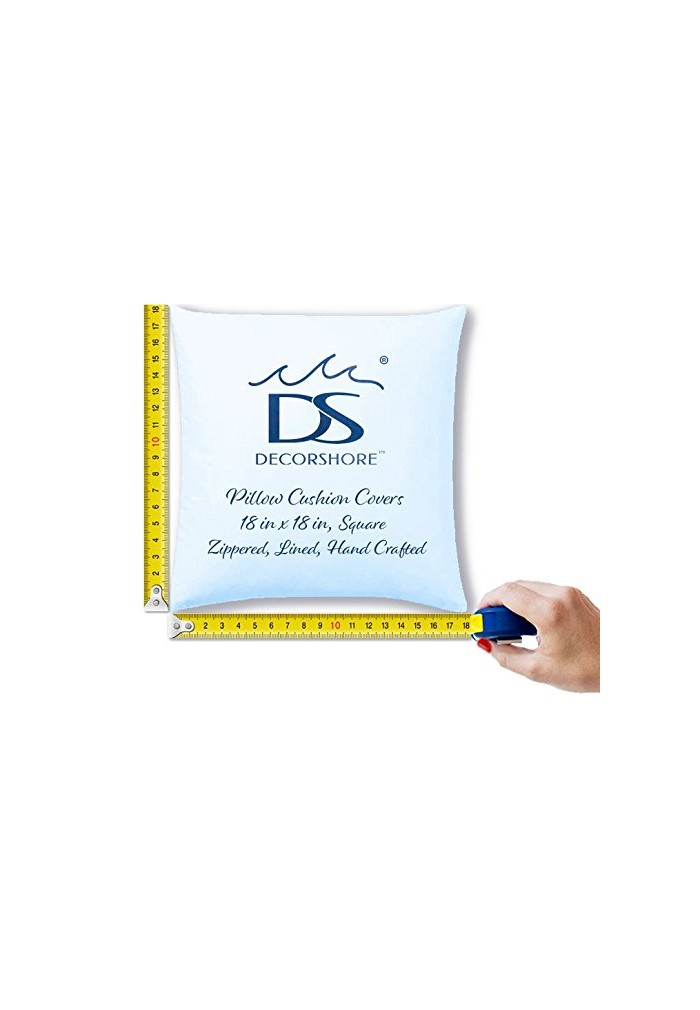 DecorShore 'Zoe' 18 inch Artisanal Decorative Throw Pillow Cover