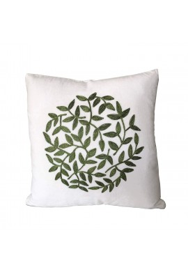 Florence 18 Inch Al Decorative Throw Pillow Cover Topiary Pattern