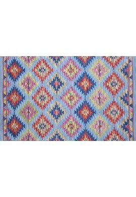 DecorShore Tribal Legends Area Rug Collection, Geometric 5'x7' 100% Wool Fiber Accent Rug (Havasupai Falls)
