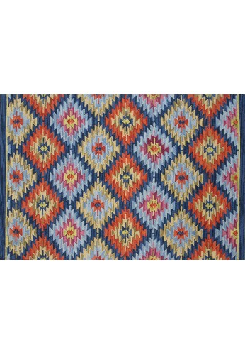 DecorShore Tribal Legends Area Rug Collection, Geometric 5'x7' 100% Wool Fiber Accent Rug (Canyon de Chelly)
