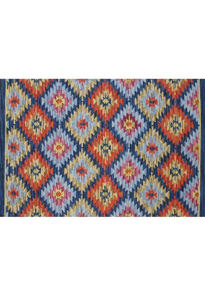 DecorShore Tribal Legends Area Rug