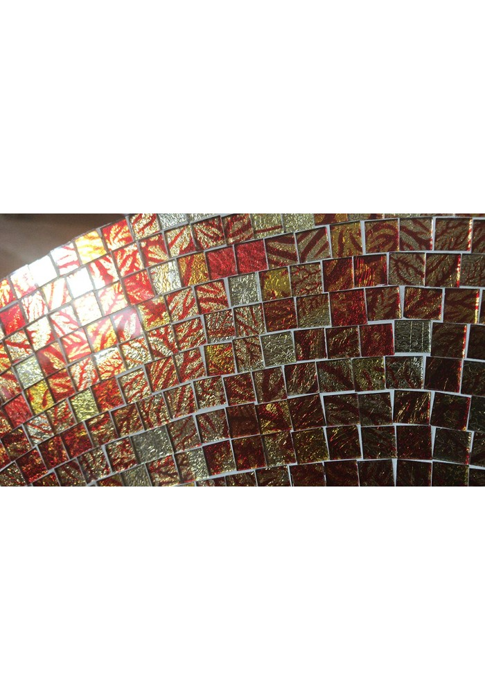 "DecorShore 24"" Traditional Mosaic Mirror Wall Mirror"