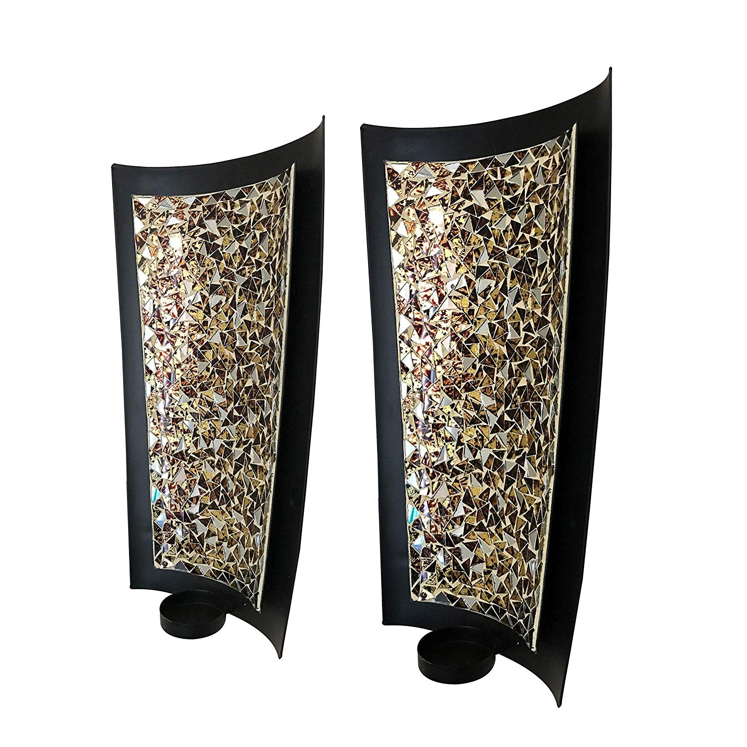 Mosaic Wall Sconces Tealight