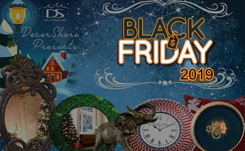 Give your home a striking makeover with DecorShore Black Friday Sale 2019