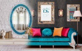 Helpful Mosaic framed Wall Mirror Placement Tips For A Great Home Decor