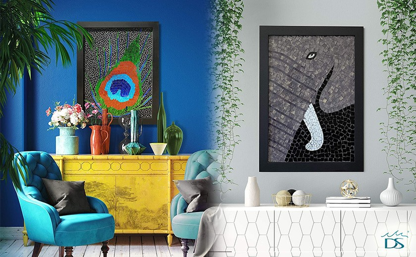 Mosaic Wall Art: Add The Right Character To Your Space!